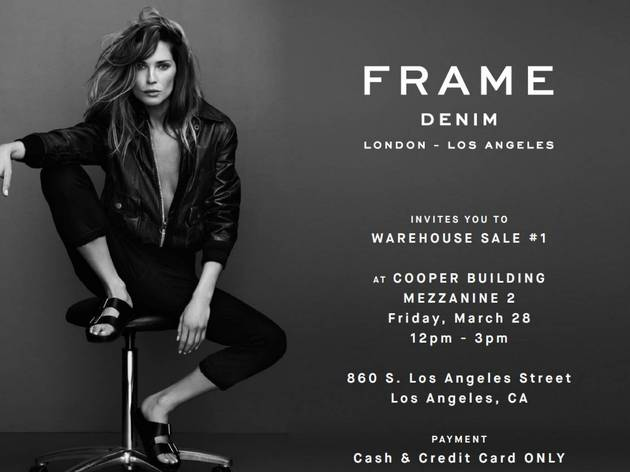 FRAME Denim LA Warehouse Sale
