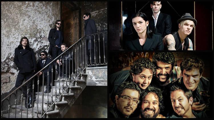 Domingo 30 (Fotos: Cortesía Vive Latino. (De izq. a der., y de arriba abajo: Zoé, Placebo, Troker))