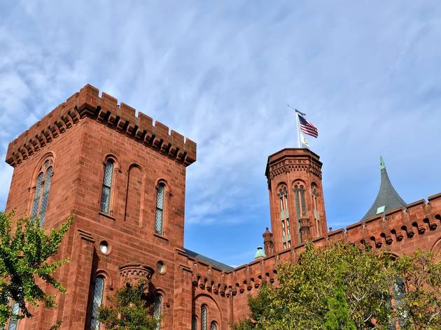 Smithsonian Institution Building, The Castle, Museums and Attractions, Washington, DC