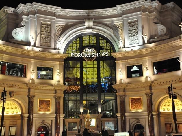 Forum Shops, Shops and services, Las Vegas