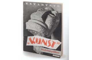 (Photograph: Hulya kolabas; cover image Otto Freundlich; The New Man; 1912 (lost))