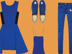 Spring fashion trends 2014: Bold blues for women
