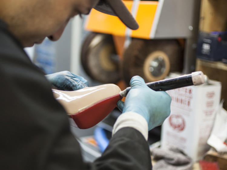 Find the best shoe repair in NYC