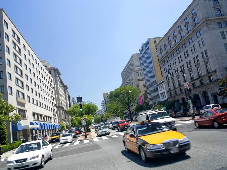 Driving in Washington, DC