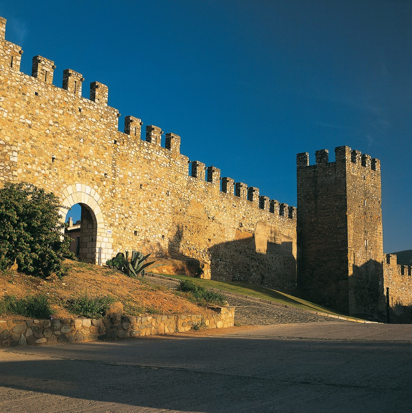 Montblanc muralles