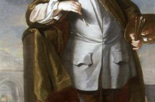 William Aikman (Portrait of William Kent, 1723-25)