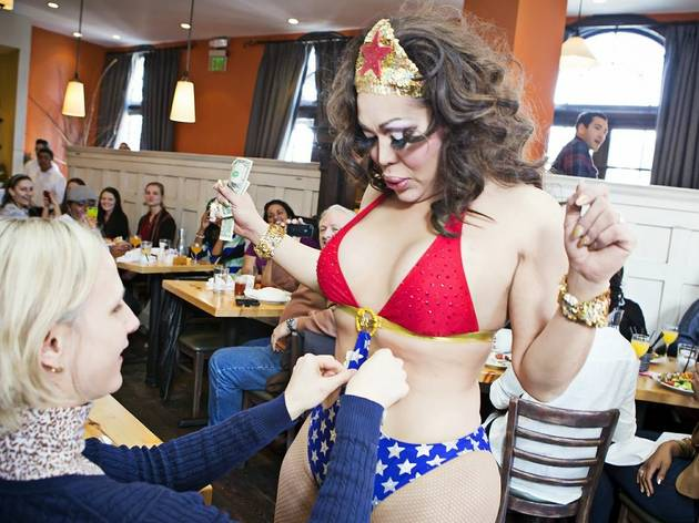Spice up brunch with a drag show at Perrys