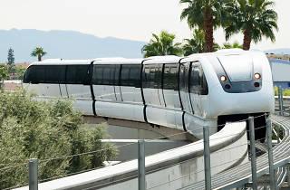What's it called? The Las Vegas Monorail. That name again? The Las Vegas Monorail…