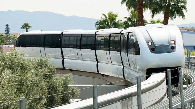 What's it called? The Las Vegas Monorail. That name again? The Las Vegas Monorail…