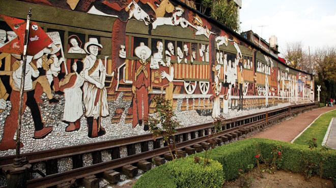 Murales de Ariosto Otero en la Magdalena Contreras