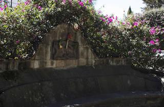 Plaza de los Arcángeles (Foto: Alejandra Carbajal)
