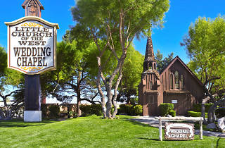 Little Church of the West Wedding Chapel, Downtown Las Vegas
