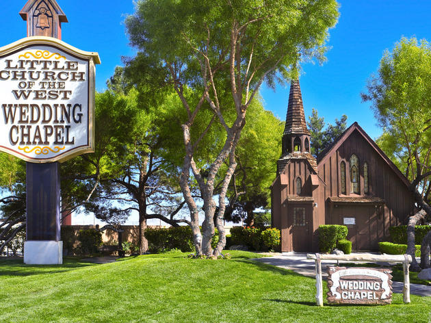 The best Las Vegas wedding chapels