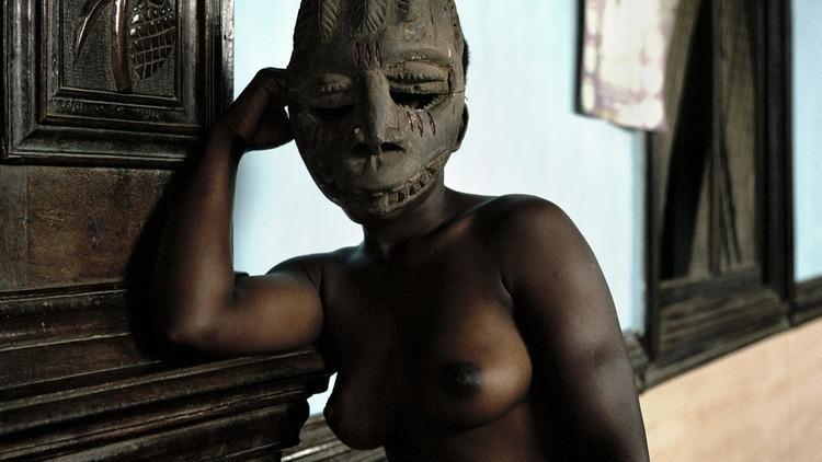 Leonce Raphael Agbodjélou ('Untitled (Demoiselles de Porto Novo series)' 2012)