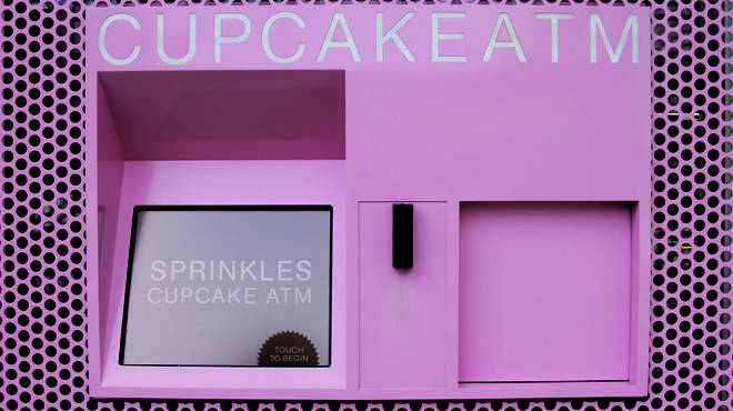 The Sprinkles Cupcakes ATM