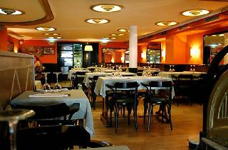 Madrid-Barcelona restaurant