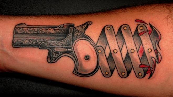 Tattoo by Jim Sylvia