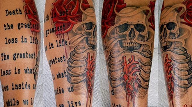 Tattoo by Jarrett DeMartino