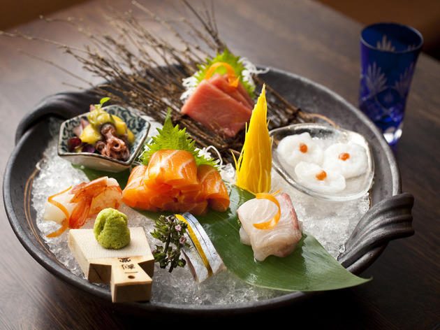 Sashimi Platter at Daruma-ya