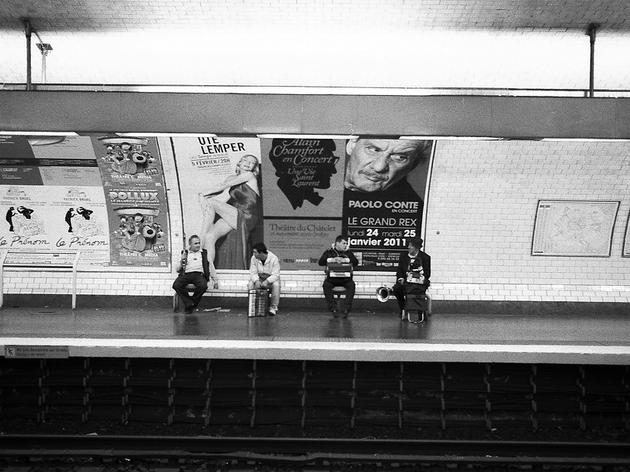 Les musiciens du métro