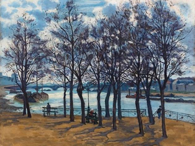 (Armand Guillaumin, 'Quai de la Rapée', 1873 / DR / Service  presse / musée Marmottan Monet)