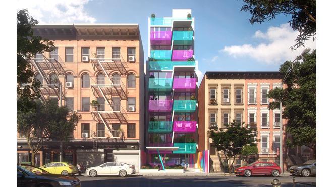 Rendering of 329 Pleasant Avenue in Harlem