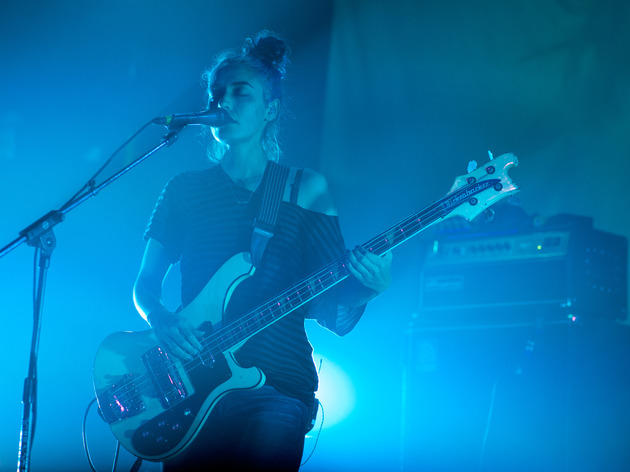 L.A. quartet Warpaint enchants with dark grooves from its self-titled album at Metro, March 28, 2014.