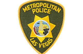 Las Vegas police badge
