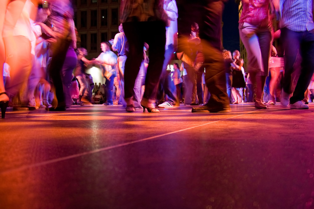 Dance salsa at Habana Village