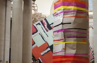 Phyllida Barlow (Installation view of 'dock 2014')