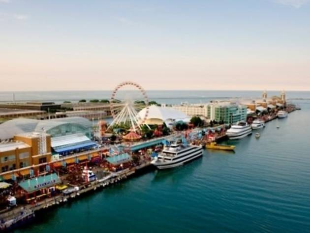 No. 30: I love hanging out at Navy Pier.
