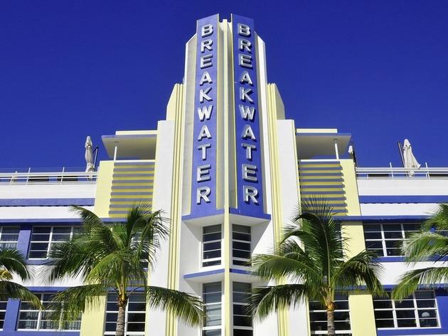 Delight in Art Deco on Ocean Drive