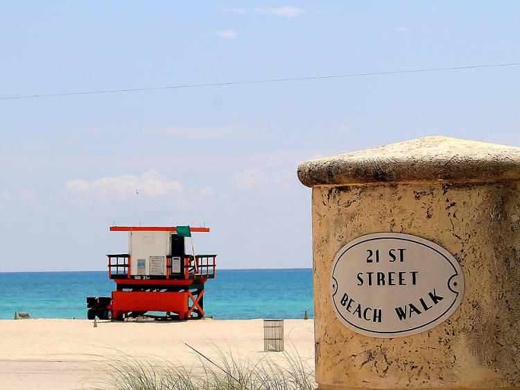 21st–45th Street Beach