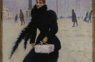 (Jean Béraud, 'Parisienne, place de la Concorde', vers 1890 / © Paris, Musée Carnavalet / Roger-Viollet)