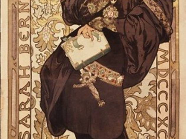 (Alfons Mucha, affiche de 'Lorenzaccio' / Adaptation de M. Armand d'Artois, 1896, théâtre de la Renaissance / © Bibliothèque Forney / Roger-Viollet)