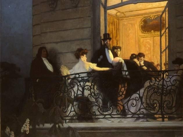 (René François Xavier Prinet, 'Le Balcon', 1905-1906 / © Musée des Beaux-arts de Caen / Photo : Martine Seyve / © ADAGP, Paris 2014)