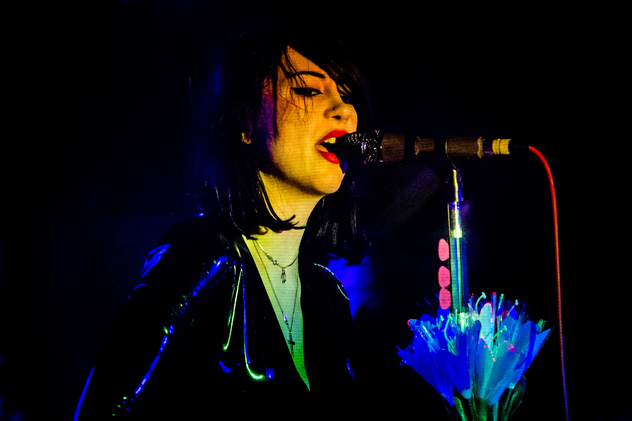 Sub Pop's Dum Dum Girls serves up dark pop from 'Too True' at Empty Bottle, March 31, 2014.