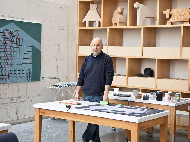 L'atelier de Miguel Castro Leñero