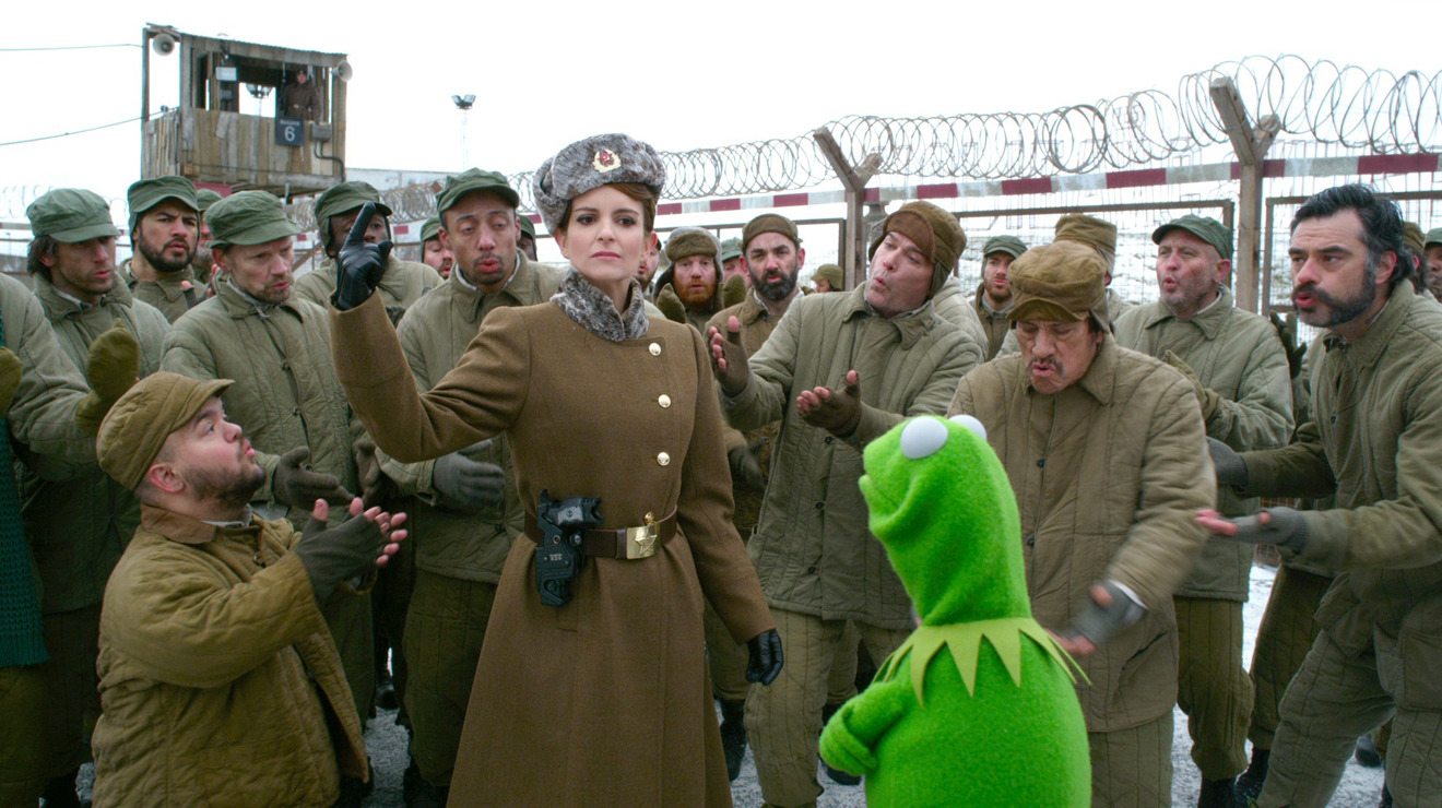 Tina Fey, Muppets Most Wanted
