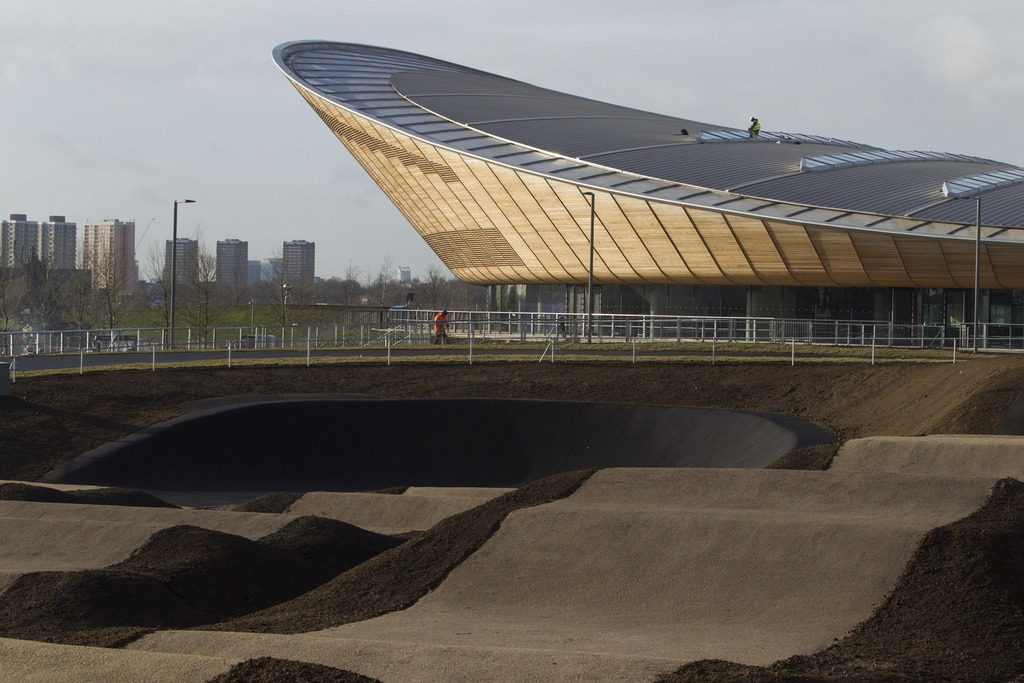 Tackle the mountain biking at Lee Valley VeloPark