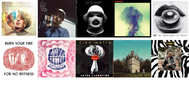 10 best albums of 2014 (so far)