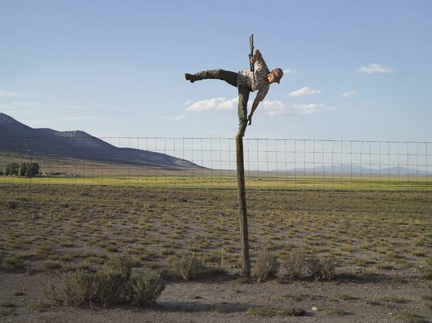 Lucas Foglia (Tommy Trying to Shoot Coyotes, Big Springs Ranch, Oasis, Nevada 2012)