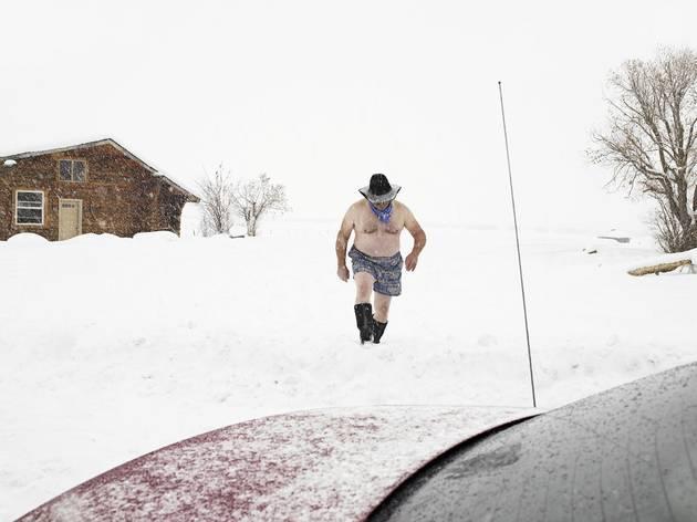 Lucas Foglia (Ron, Town Historian, Auburn, Wyoming 2010)