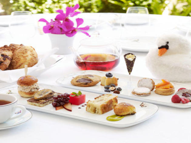 Best tea for tots: Wolfgang Puck at Hotel Bel-Air