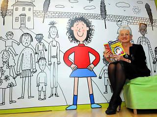 Jacqueline Wilson: 'I treasure all the letters children send me'
