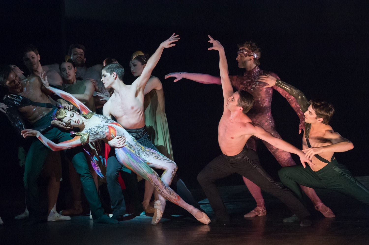 English National Ballet rehearses 'Lest We Forget'