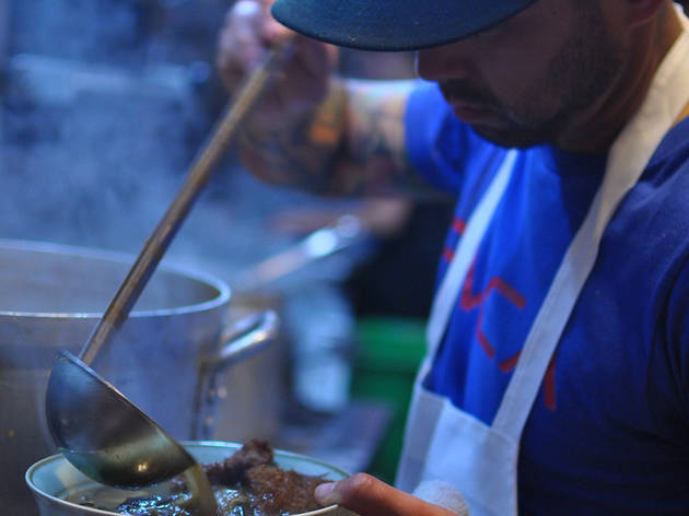 Chef Richie Nakano of Hapa Ramen