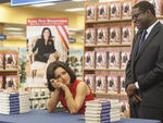 Julia Louis-Dreyfus as Selina and Sam Richardson as Richard in Veep