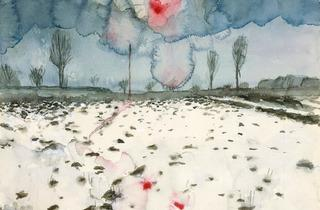 Anselm Kiefer ('Winter Landscape (Winterlandschaft)', 1970 )