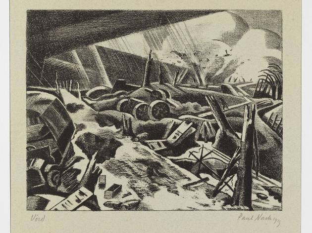 Paul Nash ('Void' 1918)
